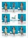Alishka-Beliza-2 Rayon And Crepe Mix Fabrics Kurtis