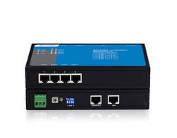NP304T-4D Series: 4-port RS-232/RS-485/422 Serial Device Servers