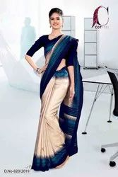 Office Wear Uniform Sarees