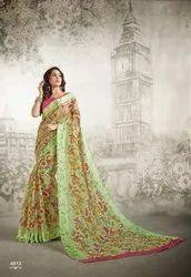 Shangrila Kachana Cotton Fancy Sarees
