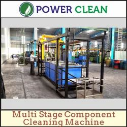 Power Clean Automatic Multi Stage Component Cleaning Machine, 2 - 3 Kw, 3STG-500-90