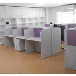 Modular Wooden Office Workstation