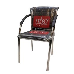 Silver Steel Chair, for Home