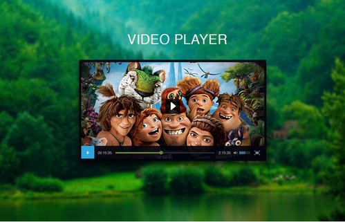 Video Player Mockup Psd Design Services In Jamnagar Grfx Pro Id