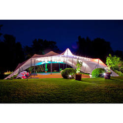 Colored Bedouin Stretch Tents