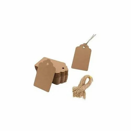 Cardboard Brown Hang Tag