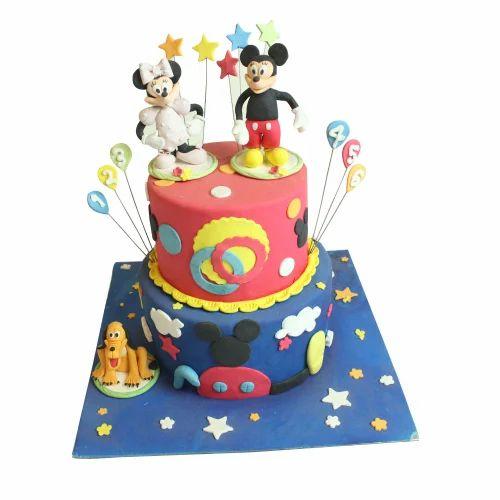 Phenomenal Mickey Mouse Cake Choco Magic Patisserie Funny Birthday Cards Online Alyptdamsfinfo