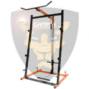 Gamma Fitness Barbell Squat Rack Cable Multi Station