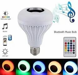 Bluetooth speaker music bulb