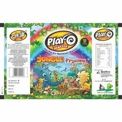 Play-O Jungle Fryums, Packaging Size: 12 Pieces, Packaging Type: Plastic Packets