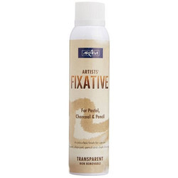 Clear Transaparent Camel Artists Fixative Spray, Pack Type: Tin Bottle