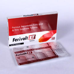 Ferrous Ascorbate, Folic Acid and Zinc Sulphate Tablets