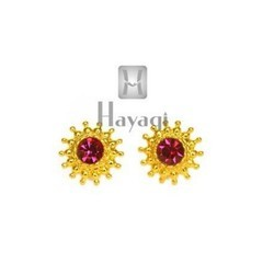 Hayagi T5954 Maharashtrian Earrings Rava Saaj Tops