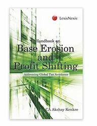 A Handbook On Base Erosion And Profit Shifting  Book