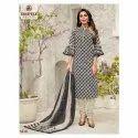 Deeptex Printed Ladies Fancy Churidar Suit, Handwash