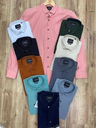 Full Sleeves Imported Lycra Snitch Mens Designer Shirt