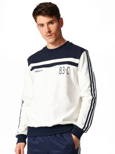 Mens Adidas Originals 83-c Crew Sweatshirt BK5318