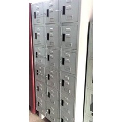 M.S Steel Locker, Size/Dimension: 78 X 36 X 19 Inch