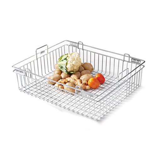 Home Care Silver SS Vegetable Basket
