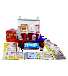 First Aid Kit Plastic Box Handy - SJF P5