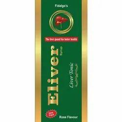 Eliver Syrup, Packaging Size: 50 ml, Grade Standard: Medicine Grade