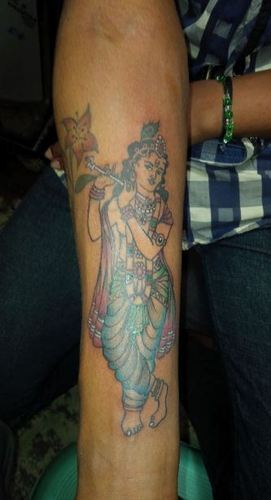d3e39410c Avenue Tattoo Studio - Service Provider of Lord Krishna Tattoo ...
