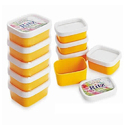 Plain Yellow And Food Container
