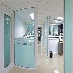 Glass Aluminium Office Partition