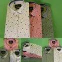 Garacia Cotton Men Collar Neck Printed Shirt