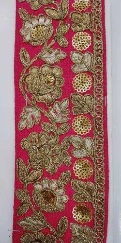 aa24765910 S.RAMESH KUMAR BANGLORI SILK Embroidered Lace Border, Use: Saree, Rs ...