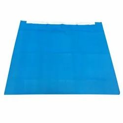 Poly Material Fixable Drapes 43 GSM Two Side Drape SMS, For General Surgery