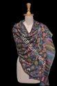 Multicolor Sethsons India Embroidery Shawls