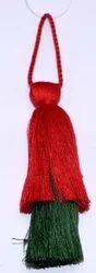 Red & Green Garment Tassel