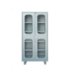 Glass Door Steel Almirah