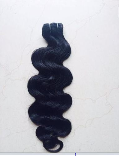 Black Body Wave Human Hair, For Personal And Parlour