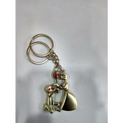 Couple Magnetic Keychain