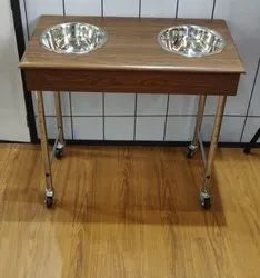 BnB Double Bowl Trolley