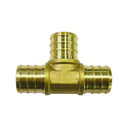 Brass Crimp Fittings, for Structure Pipe, Size: 1014x3/8 Inch