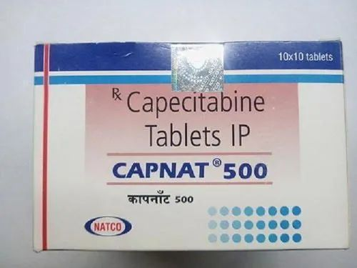 500 mg Capecitabine Tablets