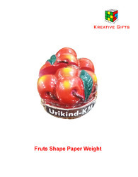 Cherry Shape Paper Weight With Card Holder