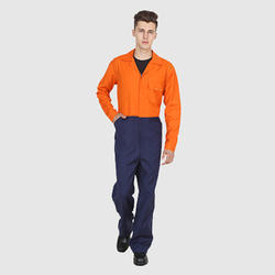 UB-COV-BNO-0002 Blue and Orange Dungaree Cover All