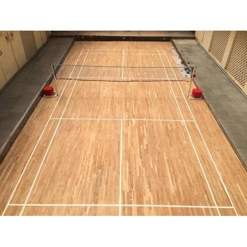 Badminton Wooden Flooring Thickness 35 80 Mm Rs 315 Square