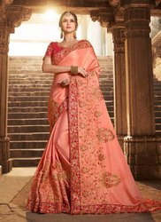 Two Tone Silk Wedding Sarees Collection