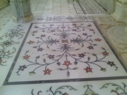 Marble Floor Inlay Work