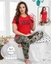 Night Wear T-Shirt and Payjama Set