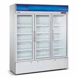 White Auto Western Three Door Vertical Chiller, Model Name/Number: Src 1800, Capacity: 1800 Litre