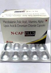 Mecobalamin, Folic Acid, Vitamins, Alpha Lipoic Acid & Chromium Chloride Capsule