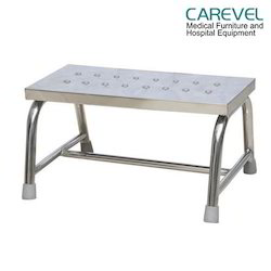 Carevel Stainless Steel Single Foot Step