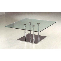 Transparent Glass Table Top