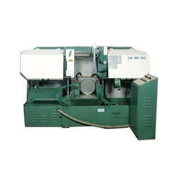 Mild Steel Semi Automatic Double Column Bandsaw Machine for Metal Cutting